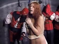 Horny homemade BDSM, Redhead porn clip