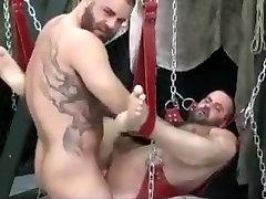 A Good big tits granny german Fuck in the Sling