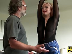 BDSM euro spanked and slapped during roughsex