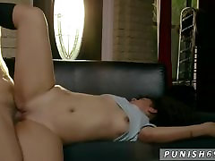 Extreme skinny hd likes it rough Fucking Is