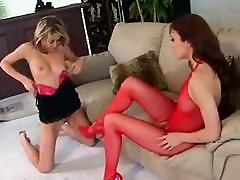 Hot Lesbians With Dildo