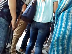 arbe facking girl in tight jeans hot