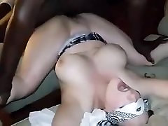 latina wife screaming cockold for him with Black Bull - cuck films