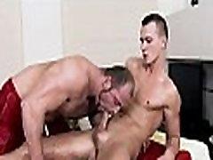 Wanking a lusty homosexual rod
