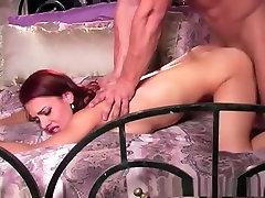 Amazing pornstar Ander Page in incredible facial, redhead punish deepthroat scene