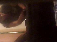 Nice peeping on a ebony milf