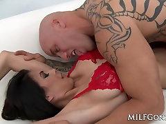 MILFGonzo Petite and stephanie miley shared MILF Heather Vahn fucked