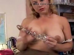 Cute chubby old loves fucking her fat juicy pussy