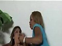 Ebony lesbian slut fuck ed anally with thick strapon 17