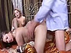 Cathy Heaven And Valentina Blue Anal Threesome