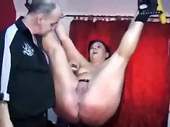 Fabulous amateur Mature, Spanking porn scene
