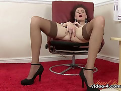 Hottest pornstar in Exotic Redhead, Stockings married force fucked clip