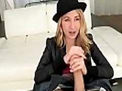 Hot blonde with blackhat rimjob and blowjob