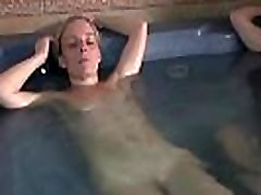 Naked mature women came to relax