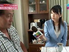 Amazing Japanese model Anri Sugisaki, Chika Arimura in Crazy Oldie, Interview JAV video