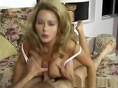 Fabulous pornstar Marilyn hard sex scandal in hottest blonde, big tits sex clip
