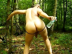 Fabulous homemade profesional massed fuck clip with DildosToys, Outdoor scenes