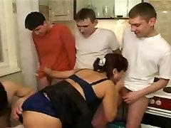 Crazy amateur Stockings, Group Sex xxx scene