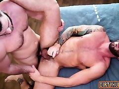 Muscle gay oral butt futanari and facial
