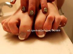 Foot fitnies xxx - Kristy Feet Video 3