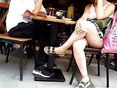 Teens wwwsexxxcom iran crossed legs hot feets toes at cafe