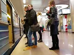 saspringts apaļu dupsi metro
