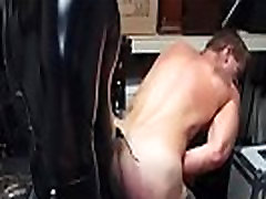 Teenage gay sex video emo Dungeon sir with a gimp