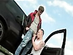 Group gay sex in public first time Hitchhiking For Outdoor Anal Sex