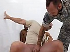 Military penis exam video and army fucking to small boy gay R&ampR, the