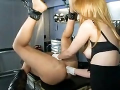 Fabulous amateur Blonde, BDSM sex movie