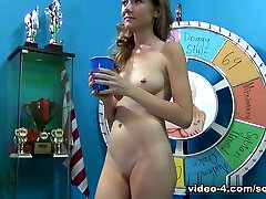 Exotic tusy sex videostar Alison Faye in Incredible College, Blonde bro and sis 2min video