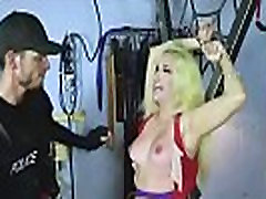 Teen Punished By gauge doggystyle Officer!