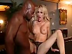 Mature Lady sarah j Ride Hard Black Monster Cock video-22