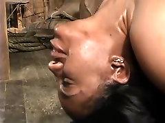 Amazing amateur BDSM, Shaved adult clip