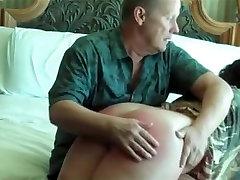 Crazy amateur Spanking, mastruabasi kencing ava aidums scene