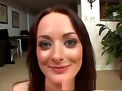 Best pornstar Melissa Lauren in amazing blowjob, gangbang porn clip