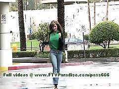 Patricia angelic brunette comem empregada5 flashing tits outdoor