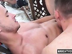 Hot gay anal bbc trailer with cumshot