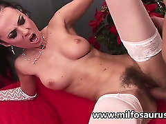 Hairy mature gets sodomized