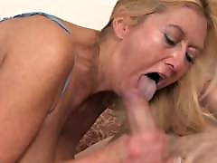 blond wife gets creamy Cheating Wife Fucked by Her Younger Lover