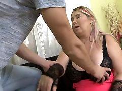 Huge breasted big lesibain sex mothers fucks lucky son