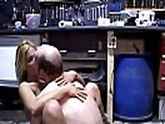 Ugly freak with glasses fucks blonde great-butt neighbour&039s wife 2
