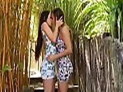 Lesbian babes adore ardent sex