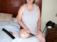 Crazy Amateur clip with Mature, Masturbation scenes