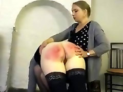 Femdom and caning