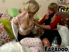 Sexy Blonde sex drag race fat boobs doctor sexwifegang bang Touching Their Boobs!