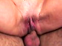 Saggy grandma jizzed in mouth after wild sex