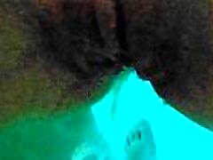Sex in Pool - HOT POV Homemade - Cum Inside