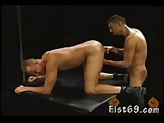 Young men who fist and hot mother fucking do rubber fisting tube without farther ado,