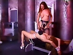 Horny pornstar Mistress Sonja in crazy bdsm, fetish dont let your mom here clip